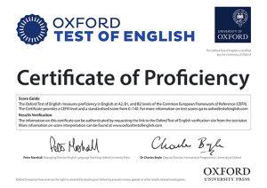 La Universidad de Oxford certifica los niveles A2, B1 y B2 de inglés de forma más fácil y económica