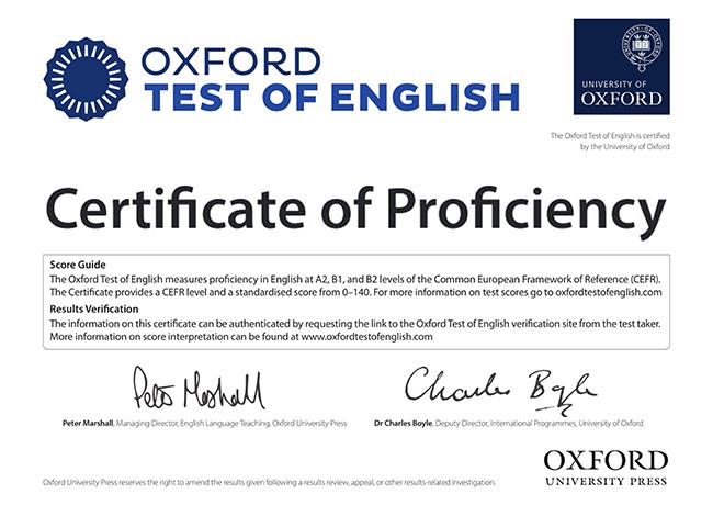 Oxford Certifica Los Niveles A2 B1 Y B2 De Ingles De Forma Mas Facil