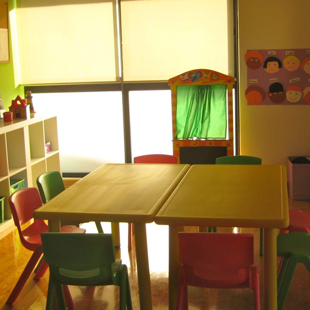 Otra aula de peques en el centro de Área Central de A casa das linguas